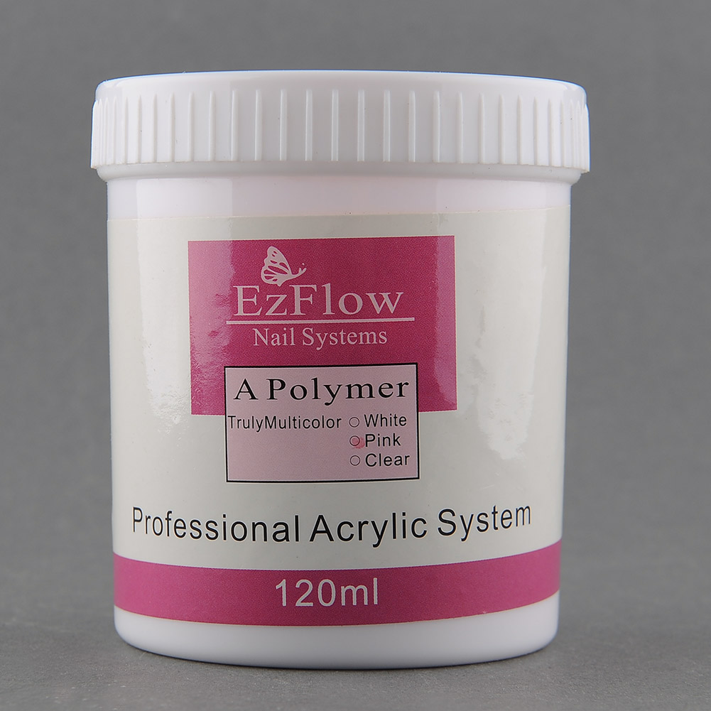 acryl pulver wei rosa klar 120g acryl puder kristall n gel acryl powder ebay. Black Bedroom Furniture Sets. Home Design Ideas