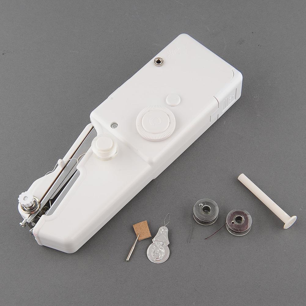 1St Neu Mini Hand Nähmaschine Praktische Reisenähmaschine  ~ Nähmaschine Hand