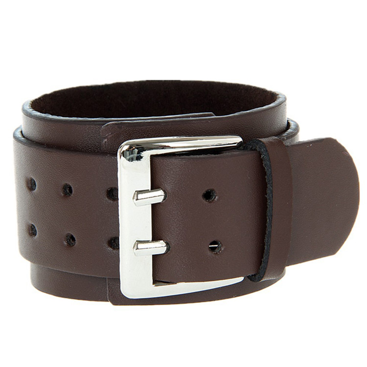 Lederarmband herren breit  Lederarmband Herren echt Leder Braun Schwarz Armband Mann Armband ...