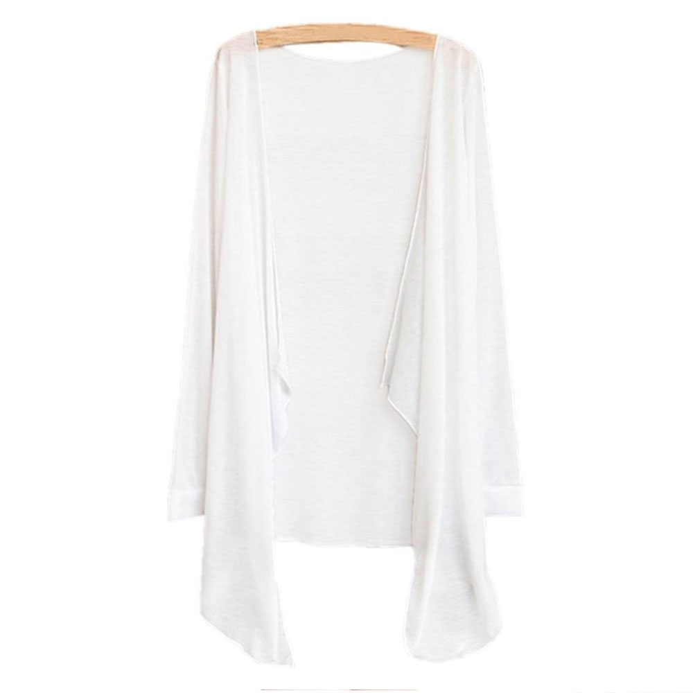 New Fashion Women Lady Girl Sun Protection Sunscreen Cardigan Tops Blouse