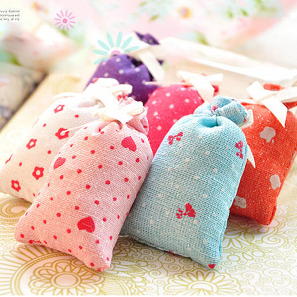 mini trockenblumen gef llte dufts ckchen tasche f r b ro. Black Bedroom Furniture Sets. Home Design Ideas