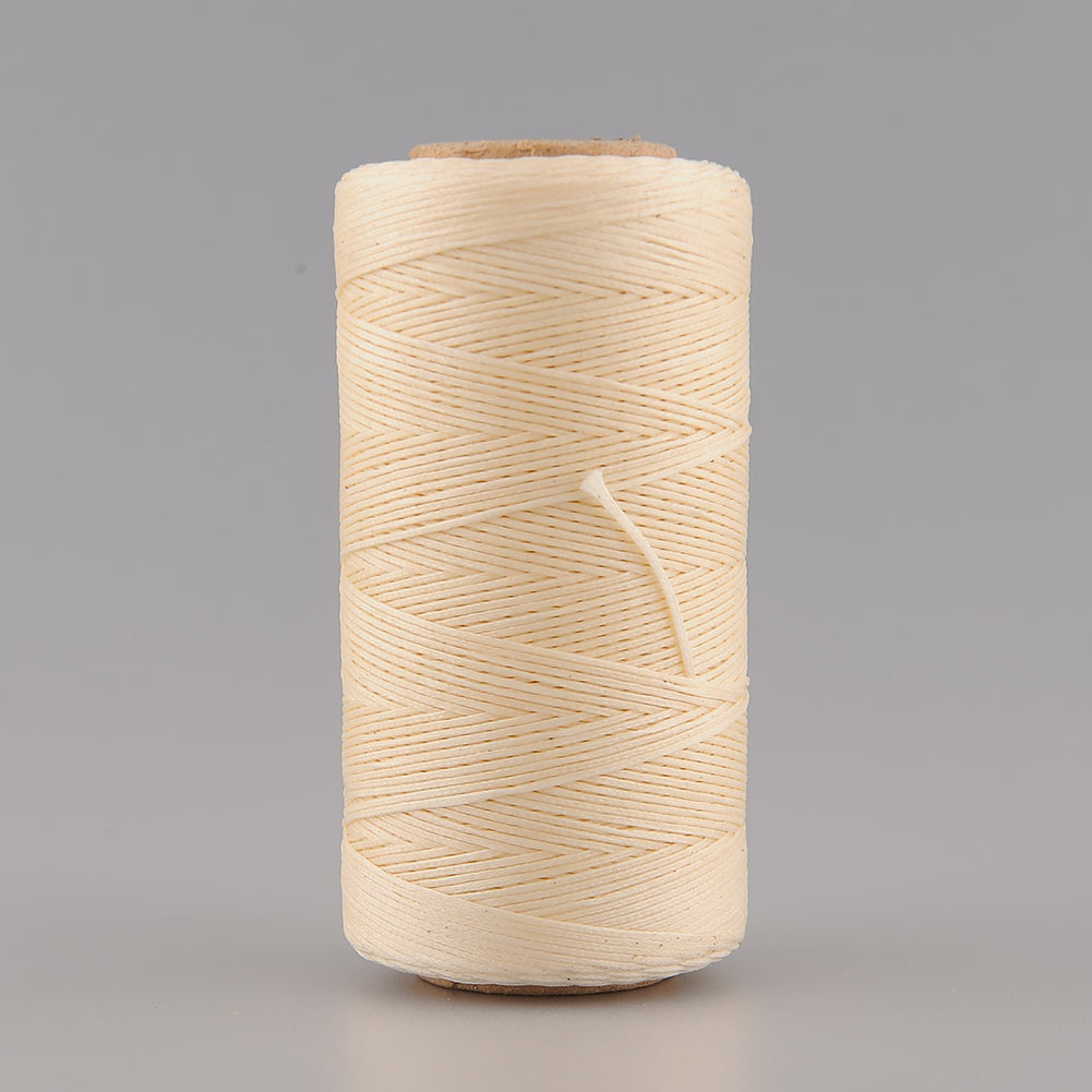 260Meter 1mm 150D Leather Waxed Wax Thread Craft for DIY Tool Hand Stitching