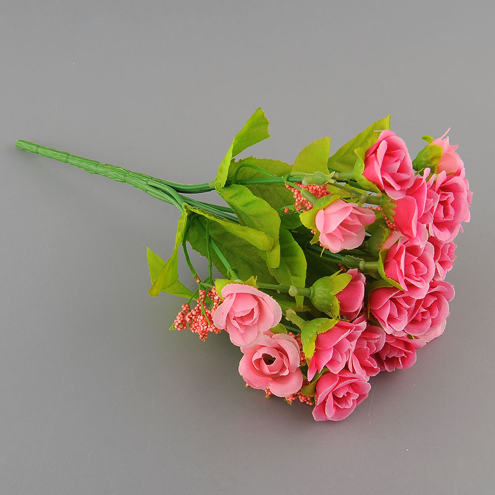 artificial rose flower silk flower arrangement wedding room decoration