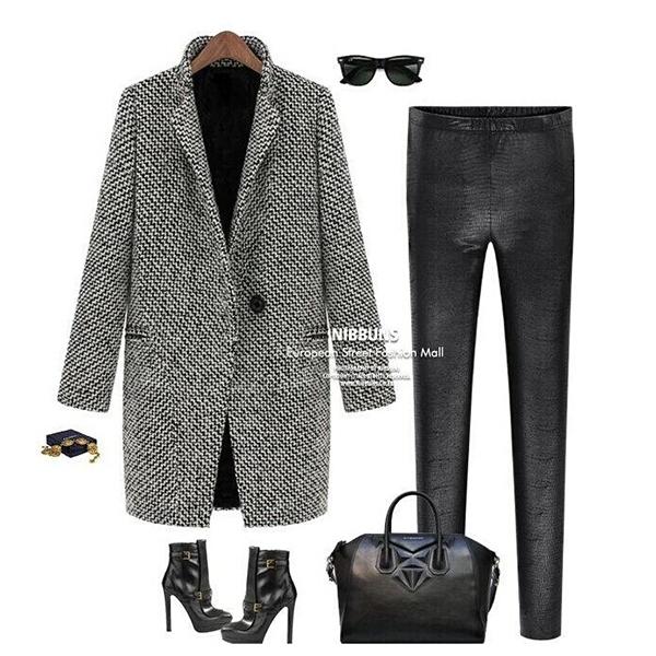 elegante damen oversize outwear cardigan coat winterjacke lang jacke coat 38 44. Black Bedroom Furniture Sets. Home Design Ideas