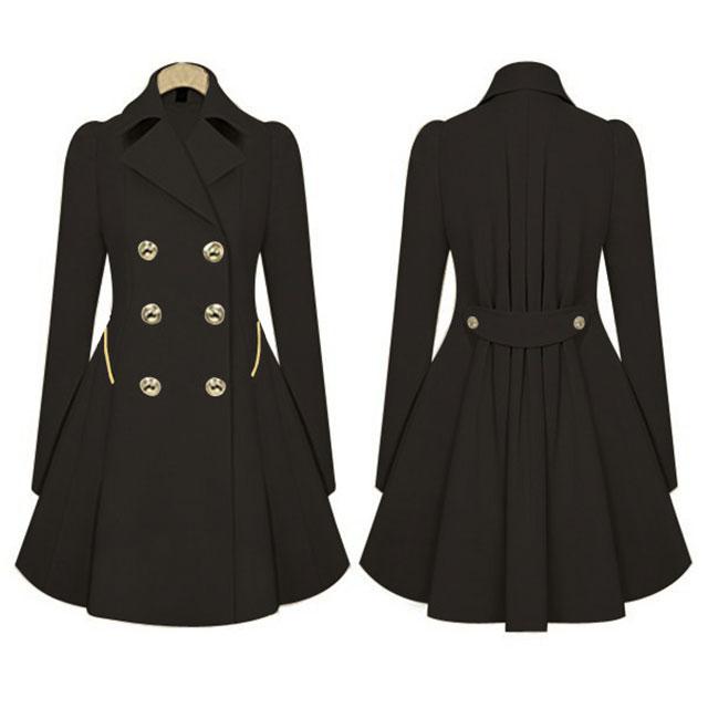 s 2xl damen trendy long cardigan parka coat jacket lange. Black Bedroom Furniture Sets. Home Design Ideas