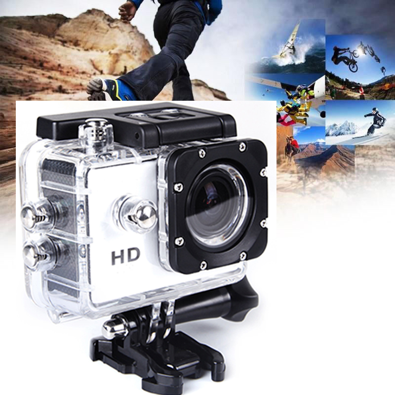 "1080P 2.0"" Sports Action Camera Waterproof Car Mini DV Video Cam SJ4000 As GoPro"