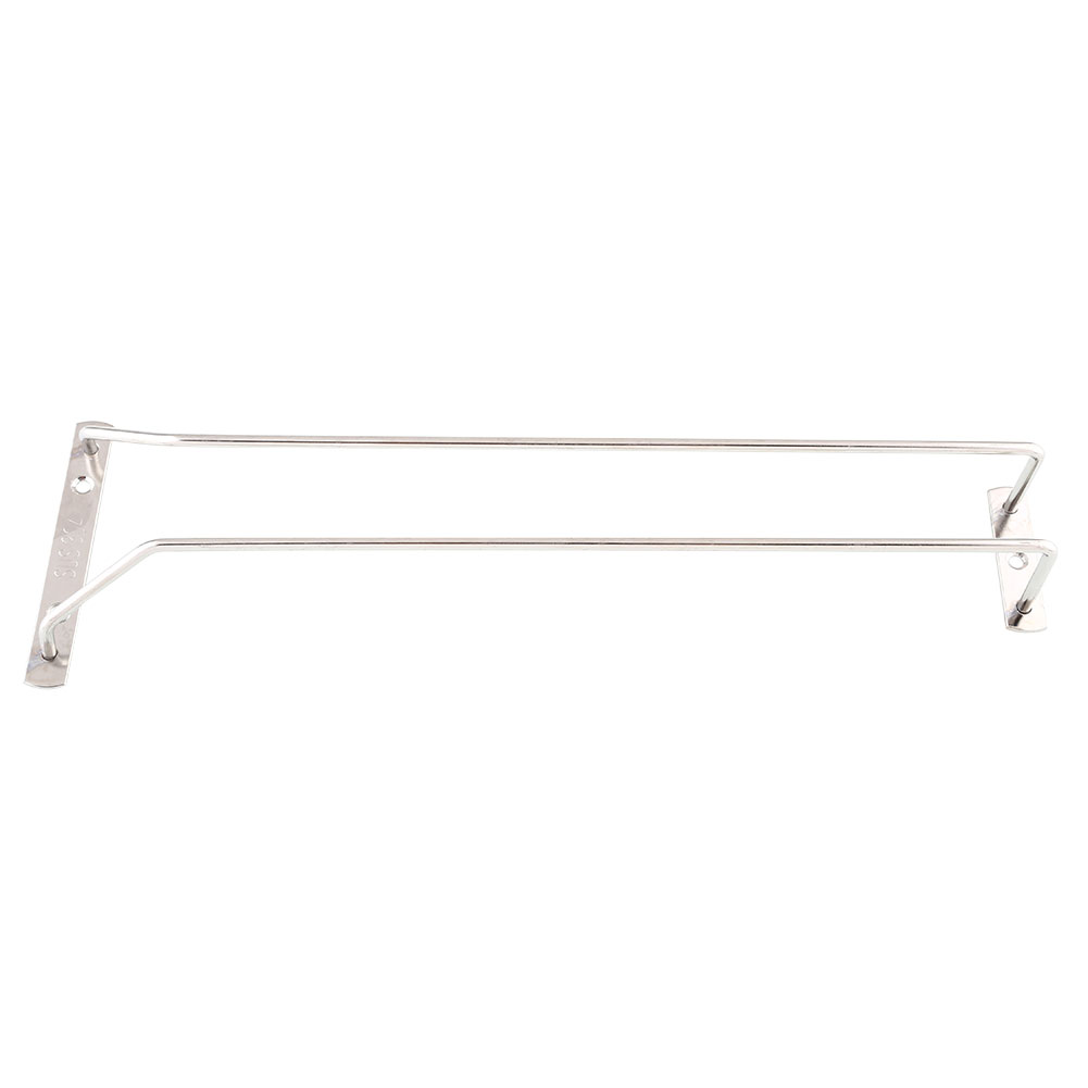 "35cm/13"" Wine Glass Cup Rack Under Cabinet Hanging Stemware Holder Shelf Home 2"