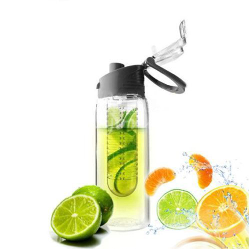 800ml fruit juice cup drinking detox water lemon bottles tritan health bottle ebay. Black Bedroom Furniture Sets. Home Design Ideas