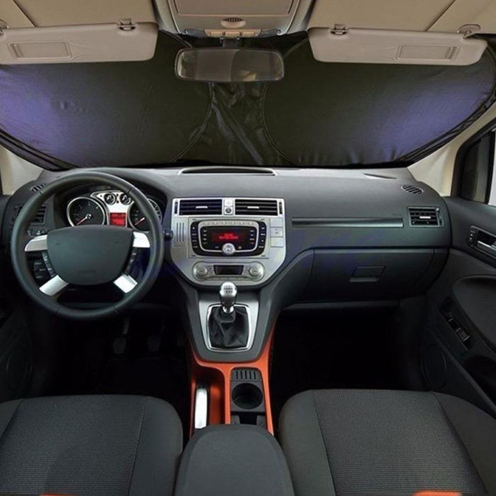 reflektierende auto auto fahrzeug front heckscheibe. Black Bedroom Furniture Sets. Home Design Ideas