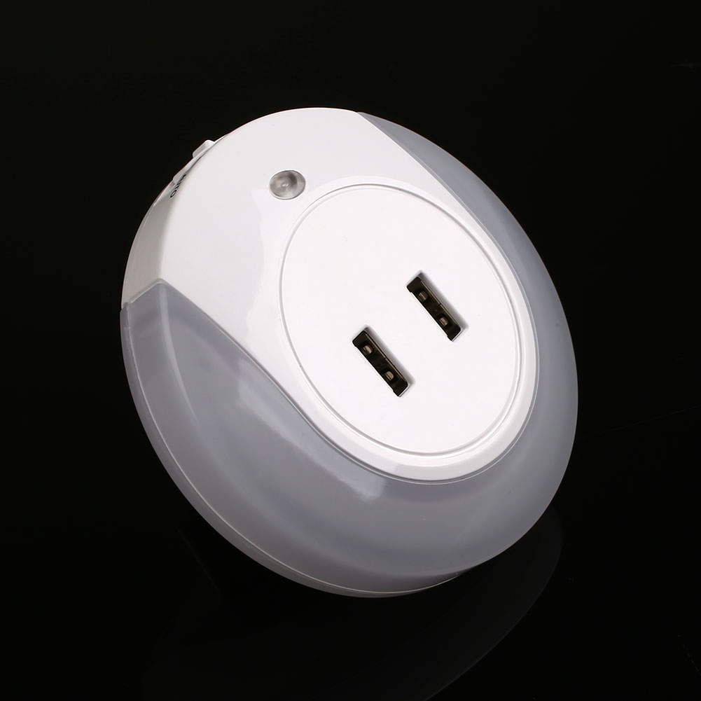 Night Lamps For Bedroom Led Light Light Sensor Usb Rechargeable Double Night Lamps Bedroom