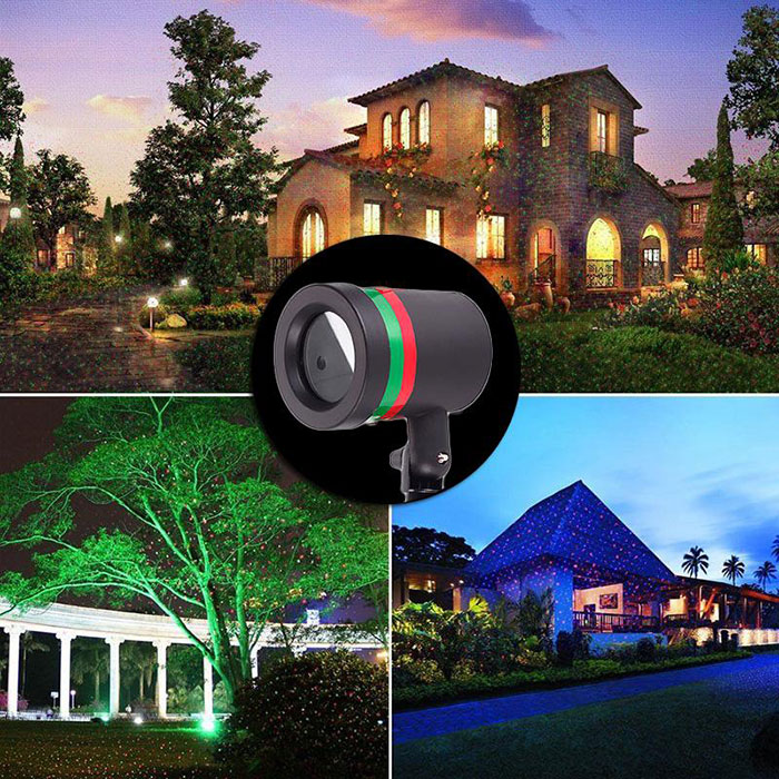 Laser Star Christmas Garden Light Sky Shower Indoor Outdoor Decoration Deko DE