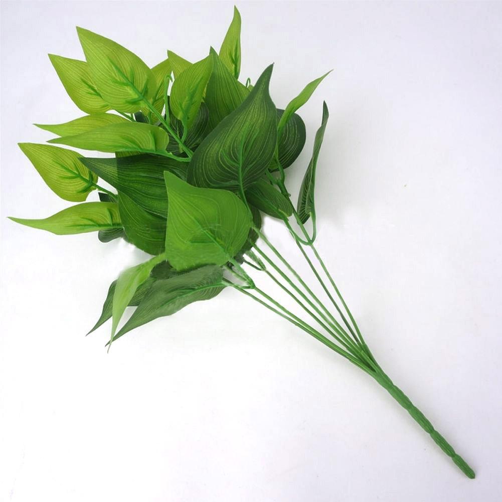 06BE-Artificial-Plants-Outdoor-Fake-Flower-Leaf-Bush-Home-Office-Garden-Decor
