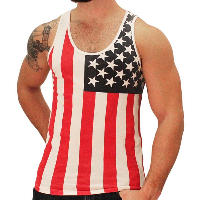B9BB-Men-039-s-American-Flag-Stripes-Stars-Tank-Top-Vest-Sleeveless-Tops-O-Neck