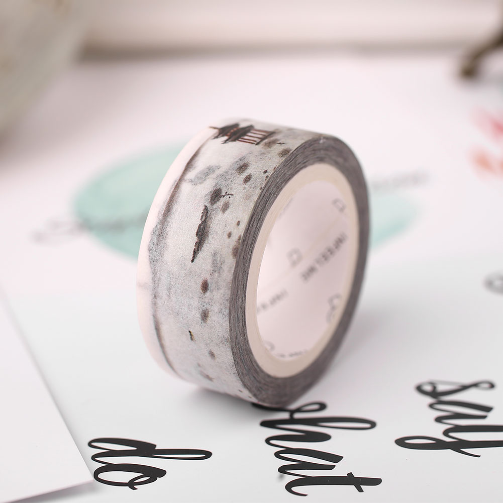 2B4E-Ink-Painting-Washi-Paper-Adhesive-Tapes-Roll-Colorful-Scrapbook-Masking