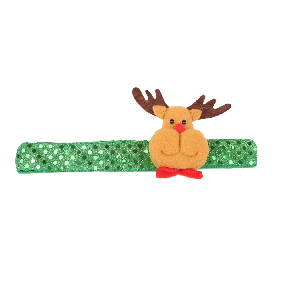 19B6-Lovely-Christmas-Pat-Ring-Bracelet-Adornment-Circle-Wristband-Toy-Gift