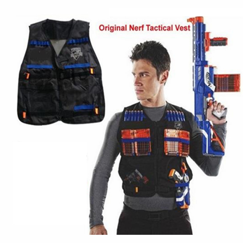 Army Green - Kids Tactical Vest Kit For Nerf Guns N-strike Elite Series,
