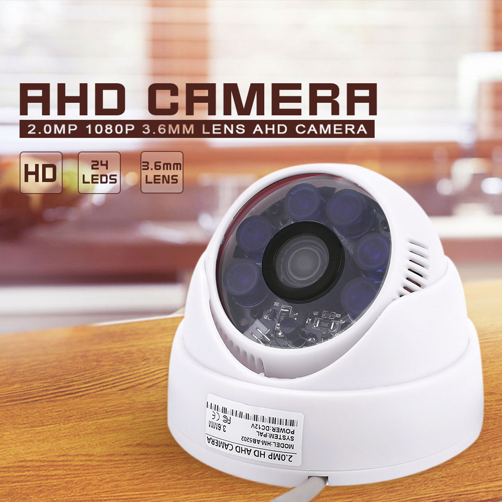 2510-HM-AB5202-3-6mm-2-0MP-1080P-Coaxial-AHD-ABS-Shell-Security-Camera-Vedio
